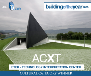 Building Of The Year 2009, Cultural category winner: ACXT