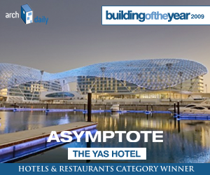 Building Of The Year 2009, Hotels & Restaurants category winner: Asymptote