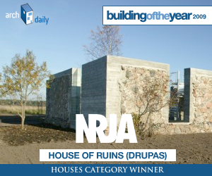 Building Of The Year 2009, Houses category winner: NRJA