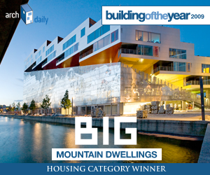 Building Of The Year 2009, Housing category winner: BIG