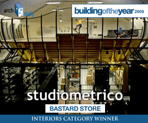 Building Of The Year 2009, Interiors category winner: Studiometrico