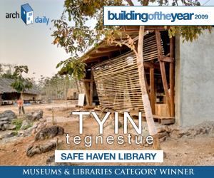 Building Of The Year 2009, Museums & libraries category winner: TYIN Tegnestue